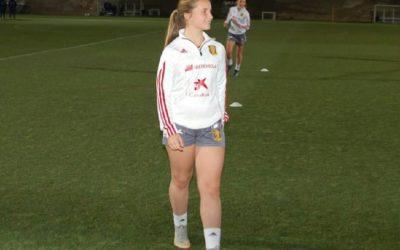 La alumna de 3º de ESO Lidia Rayo García convocada con la selección nacional sub16  de futbol.