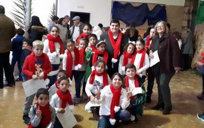 Jornada navideña con los chicos de Oberti