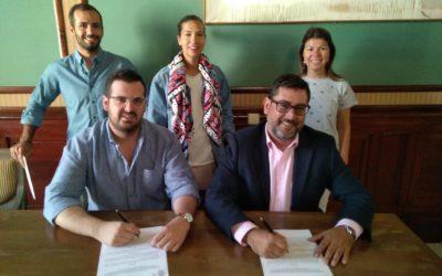 Oberti renueva su convenio de colaboración con el Ayuntamiento de Utrera