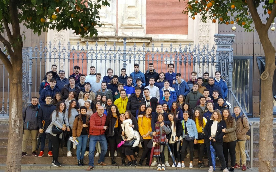 ESO, FPB y bachillerato de excursión en Diciembre.