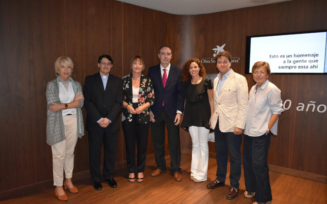 La  obra social La Caixa concede una subvención al «Proyecto Oberti»