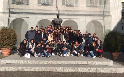 Los alumnos de Bachillerato ya están en Italia
